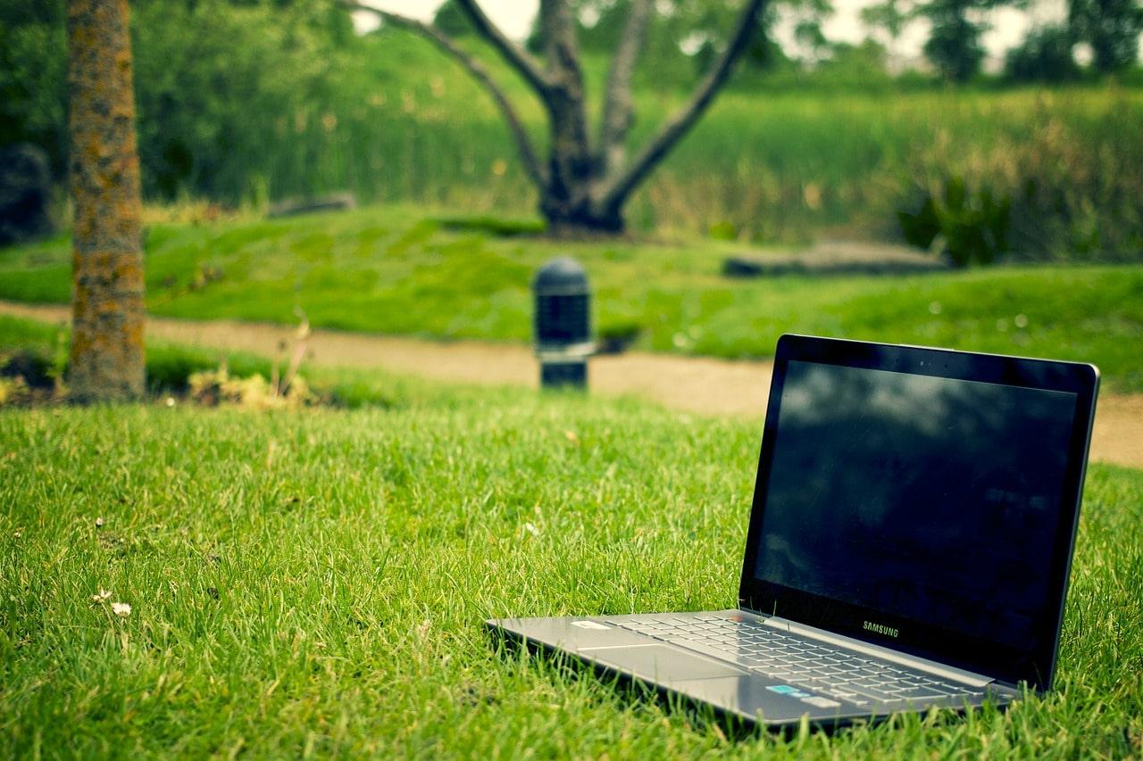 notebook, laptop, work
